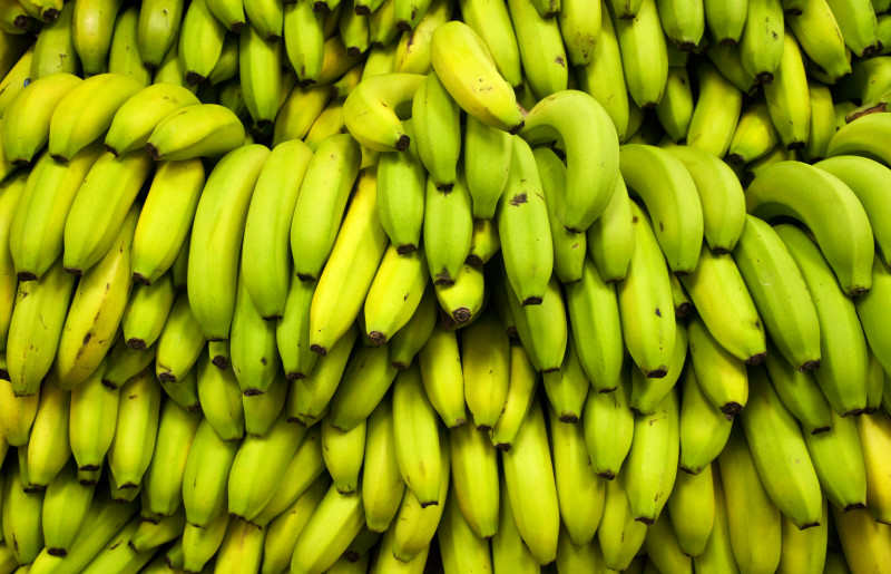Banana texture background