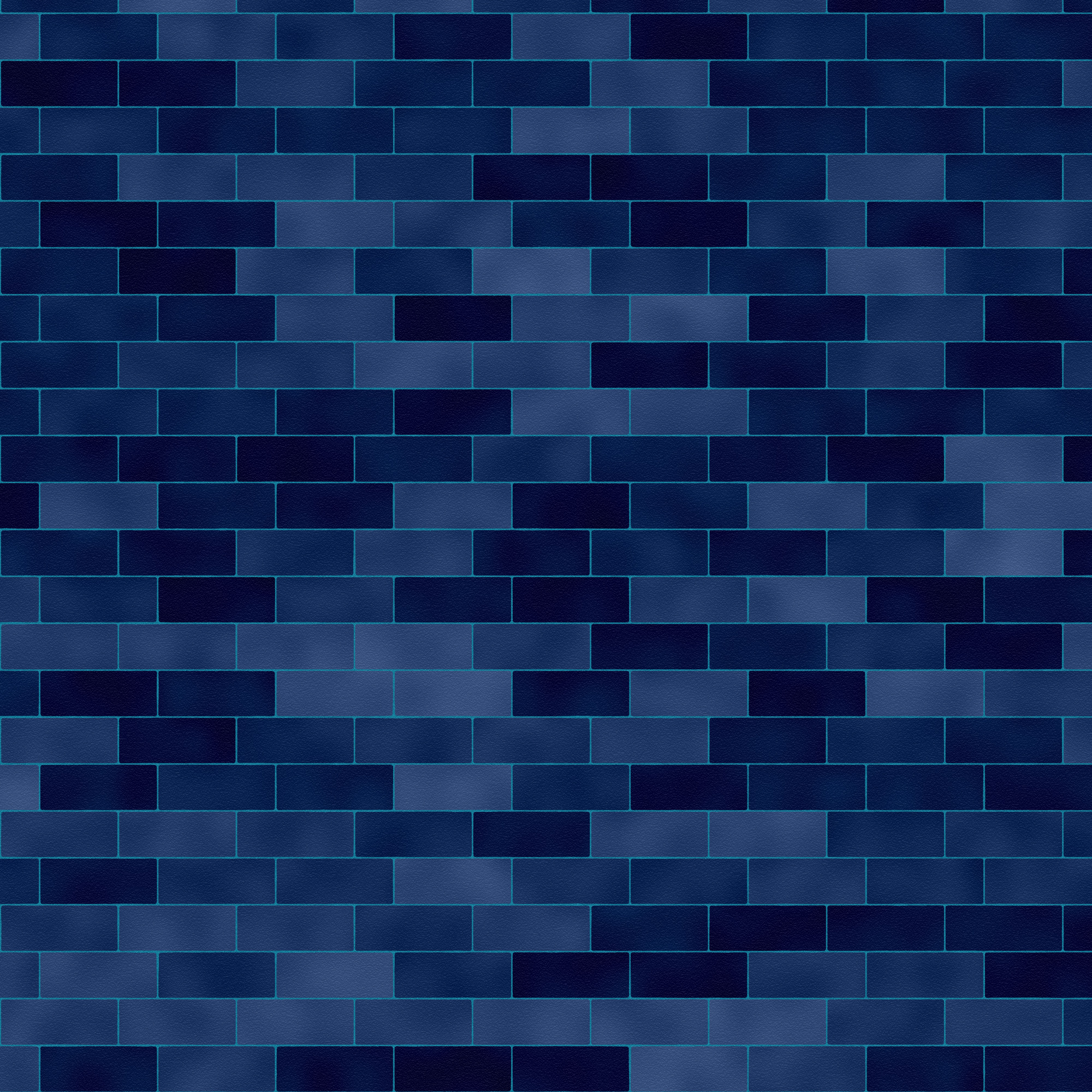 Blue brick wall texture brick wall download photo for Dark blue wallpaper for walls