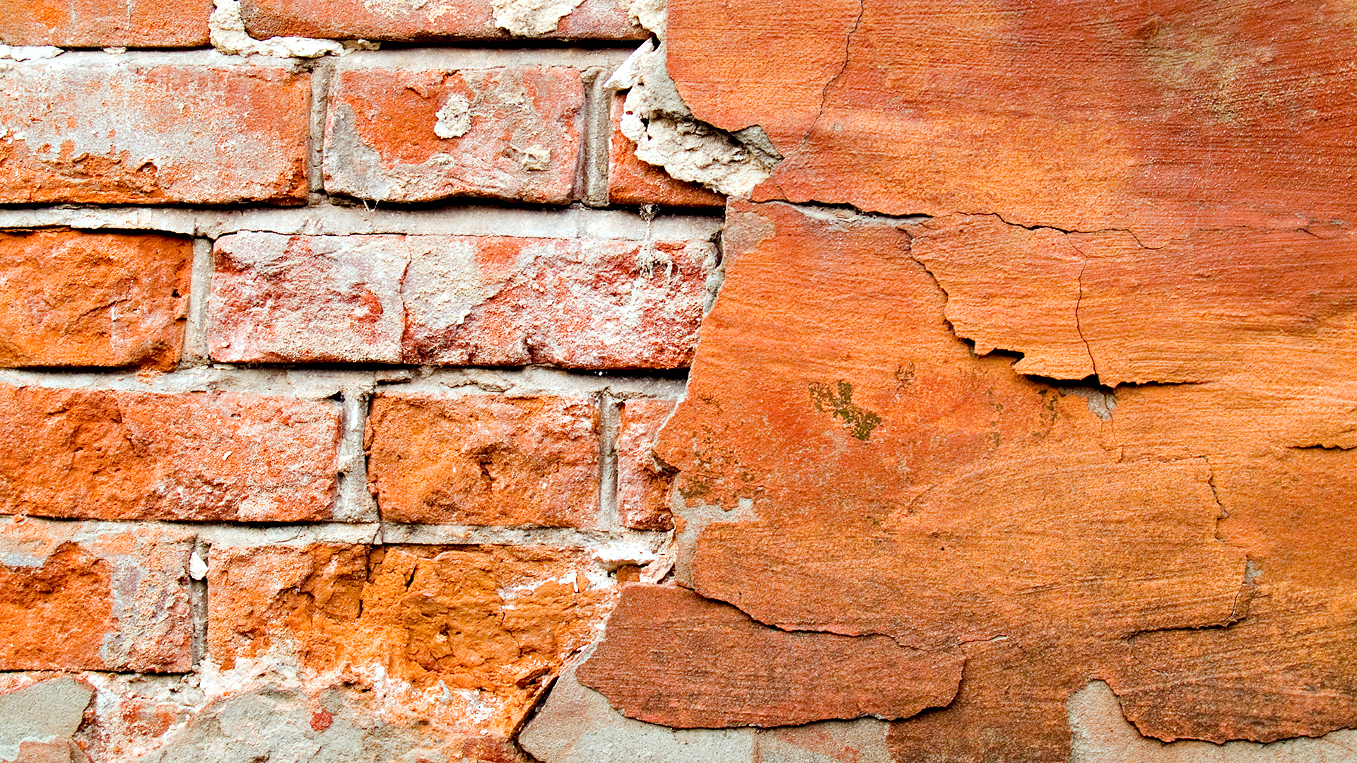 old brick wall, bricks, background, texture, download photo, stucco