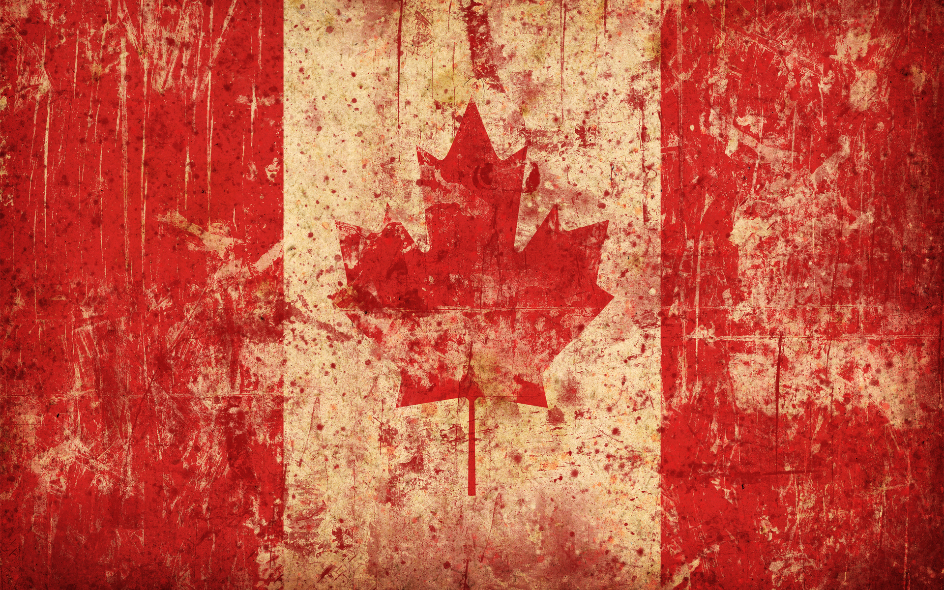 Canadian flag, texture flag, background, flag background, Canada, Канада