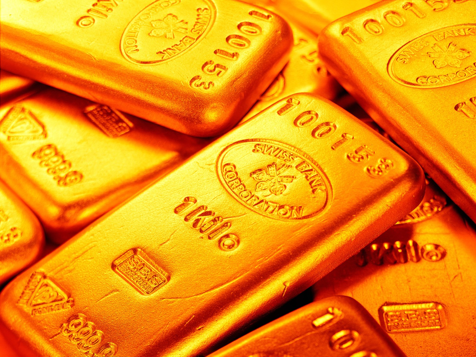 gold bullion, gold, texture, background