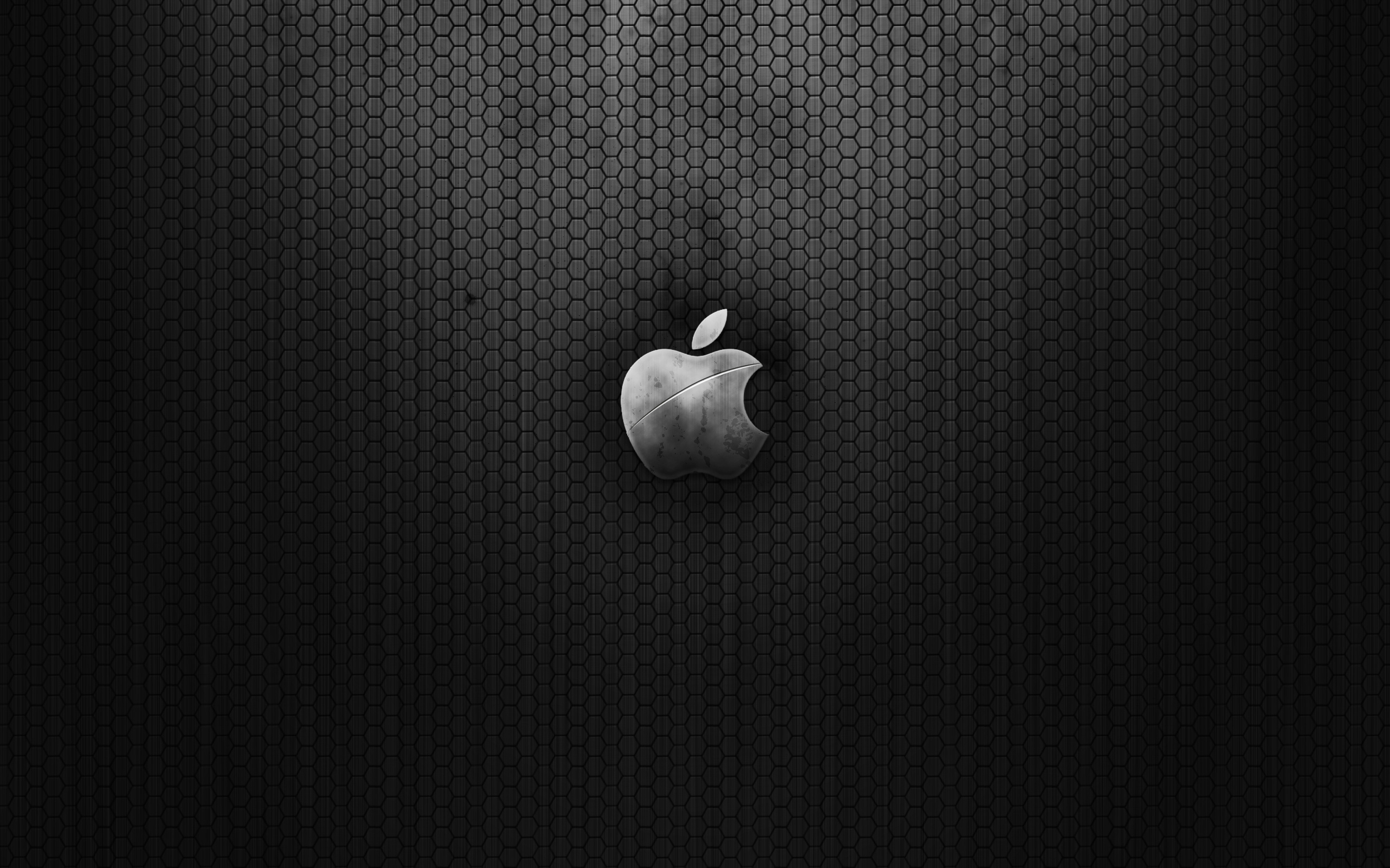Apple metal wallpaper, metal, iron, texture, download photo