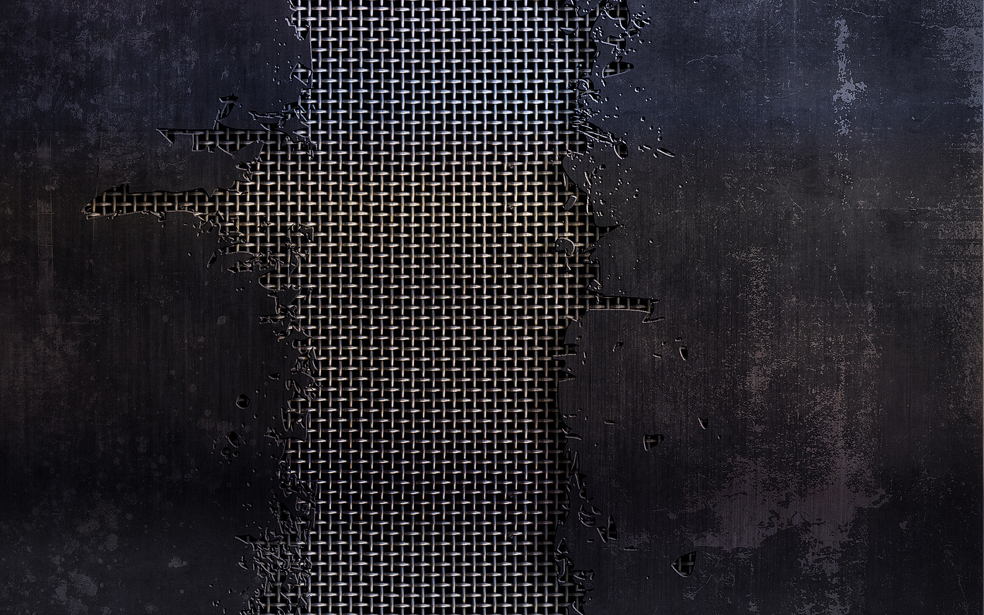 metal, grid, iron, leaf, background, metal texture