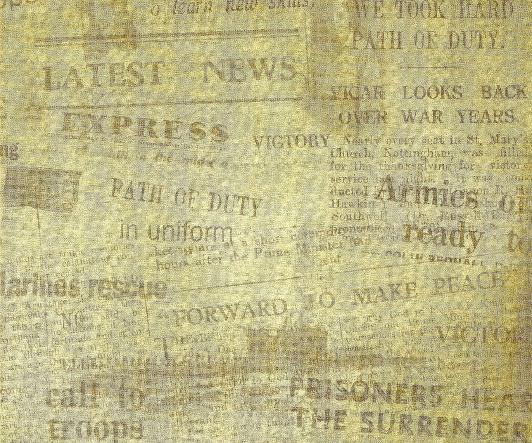 yellow old newspaper, texture newspapers, background, yellow old newspaper background