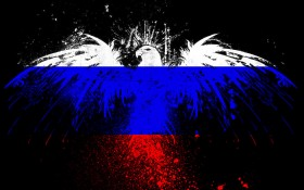 Russian flag texture, download background