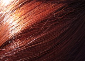 red hair texture, background, red hair texture, background