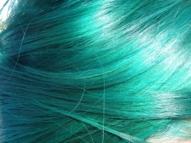 hair texture, background, blue hair texture, background