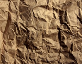 old brown creased paper texture background