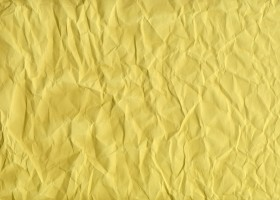 yellow creased paper texture background