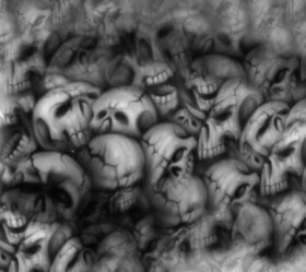 черепа, фон, текстура, фото, skulls texture background