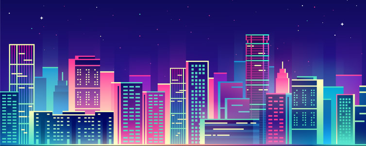 City texture background