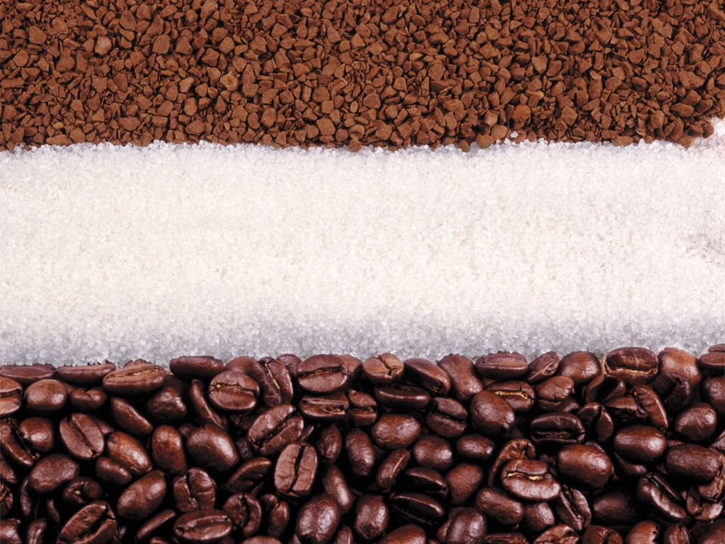 coffee, , sugar coffee beans, texture, photo