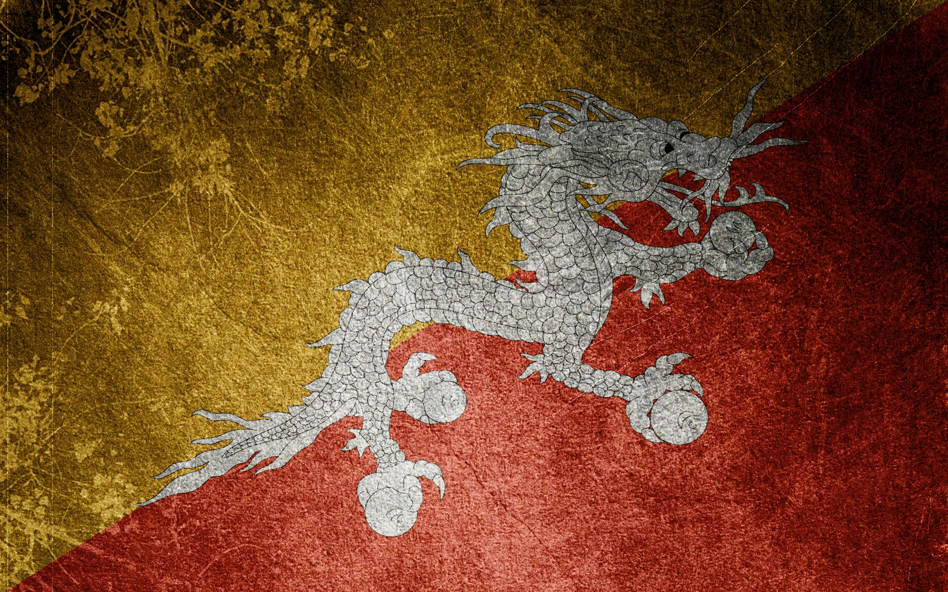 dragon, flag, texture, background