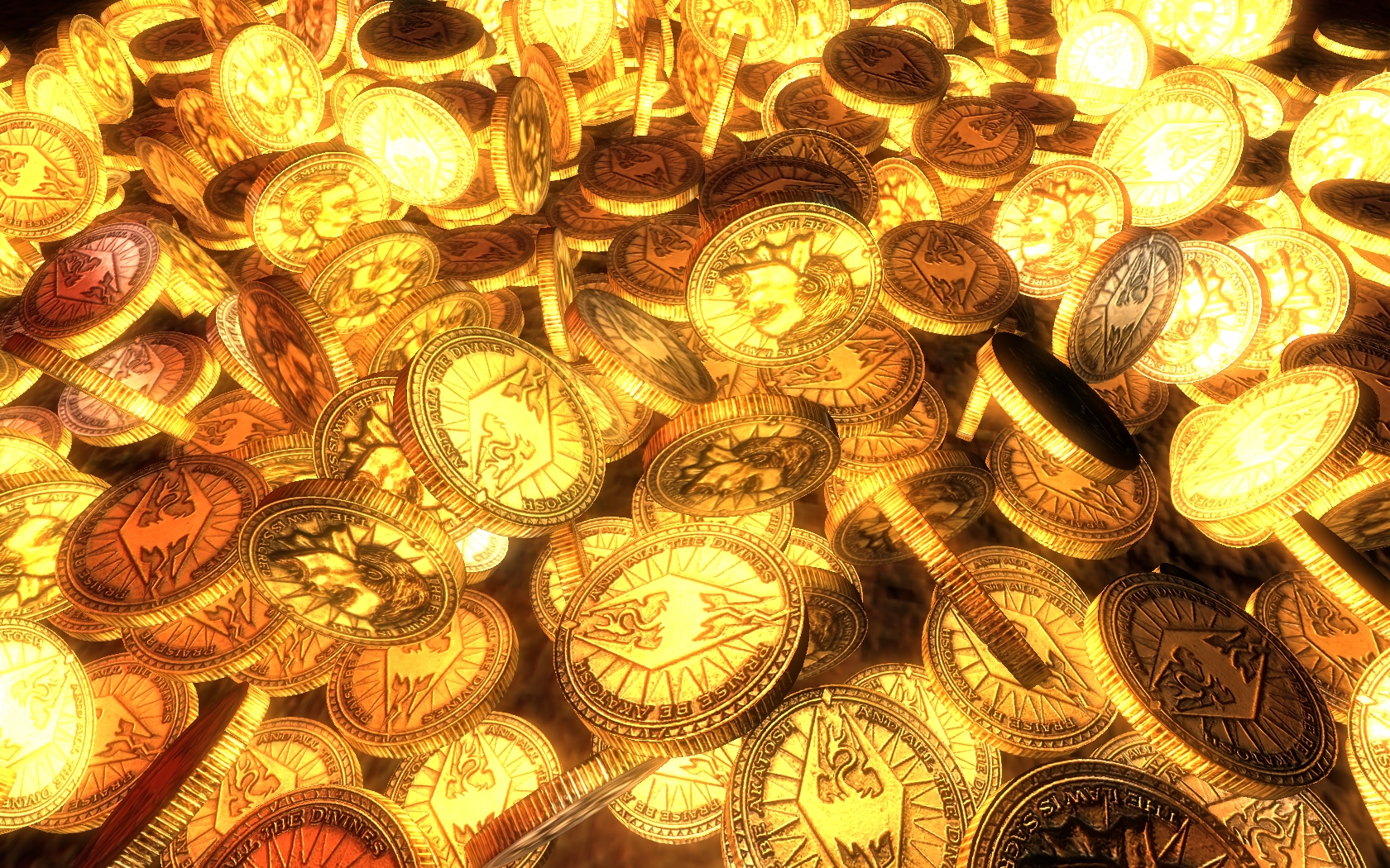 gold coins, texture gold, gold, golden background