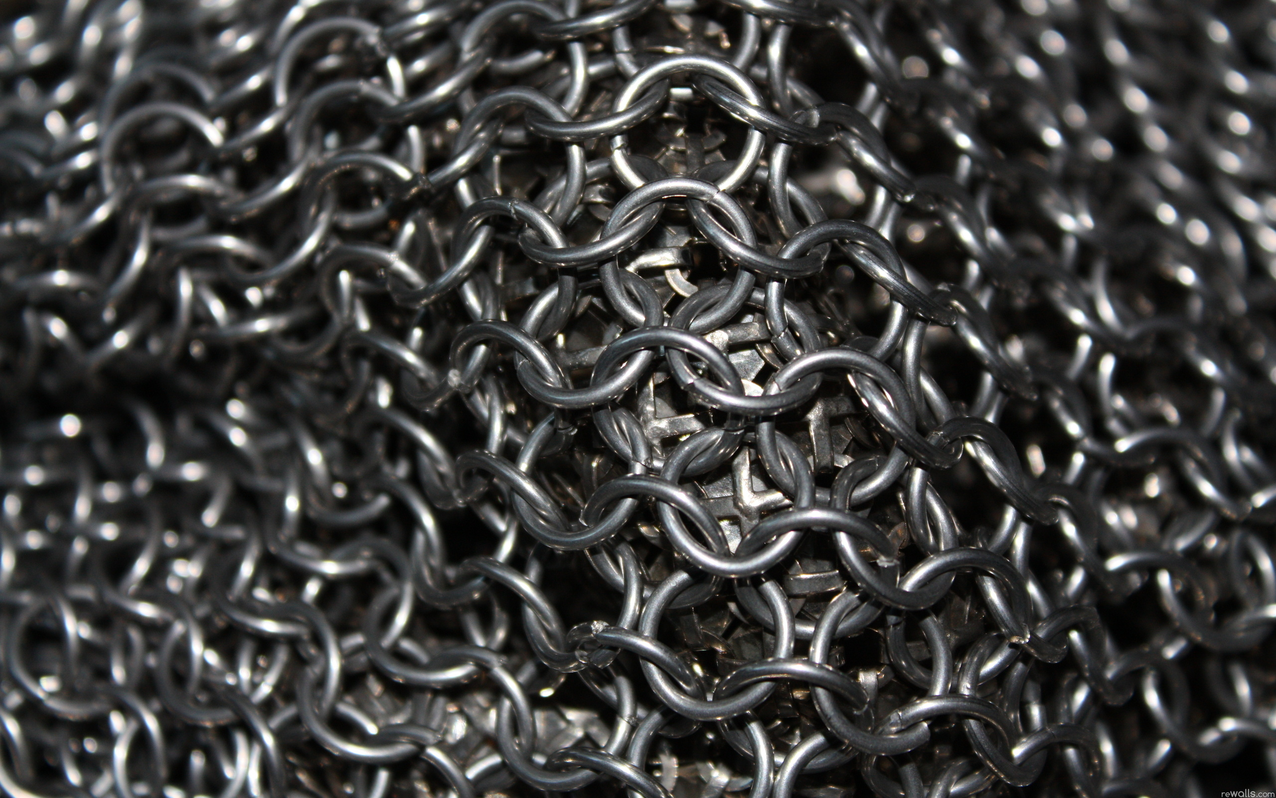 texture , metal rings, background, iron, metal