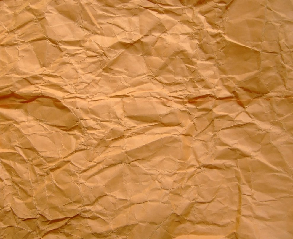 brown wrinkled paper, download background, texture paper