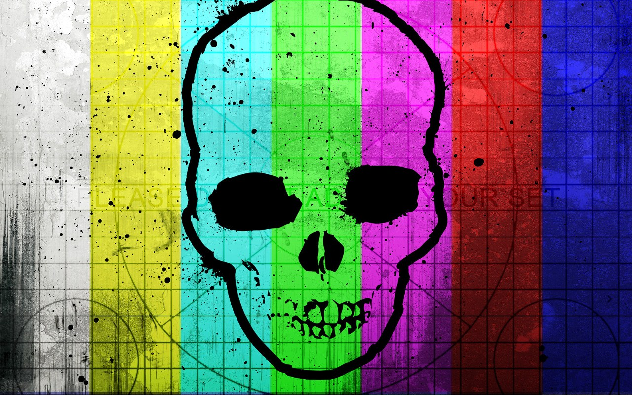 радуга череп, фон, текстура, фото, rainbow skull texture background
