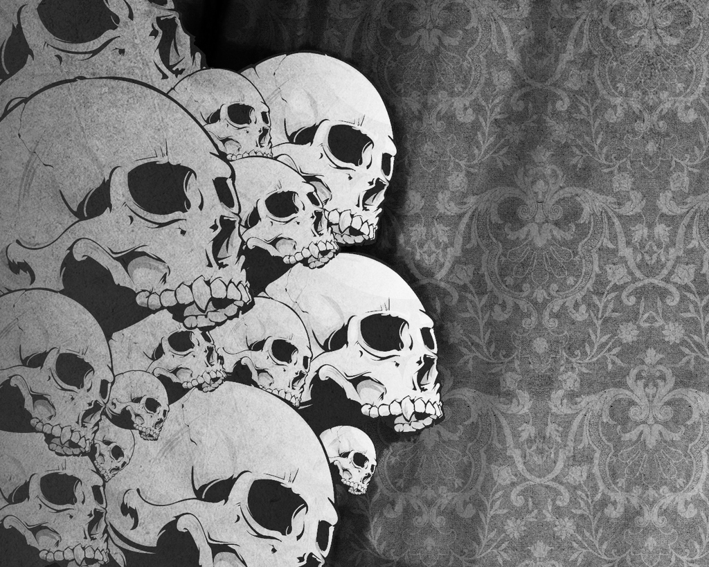 skull, background, texture, photo, gray skulls texture background