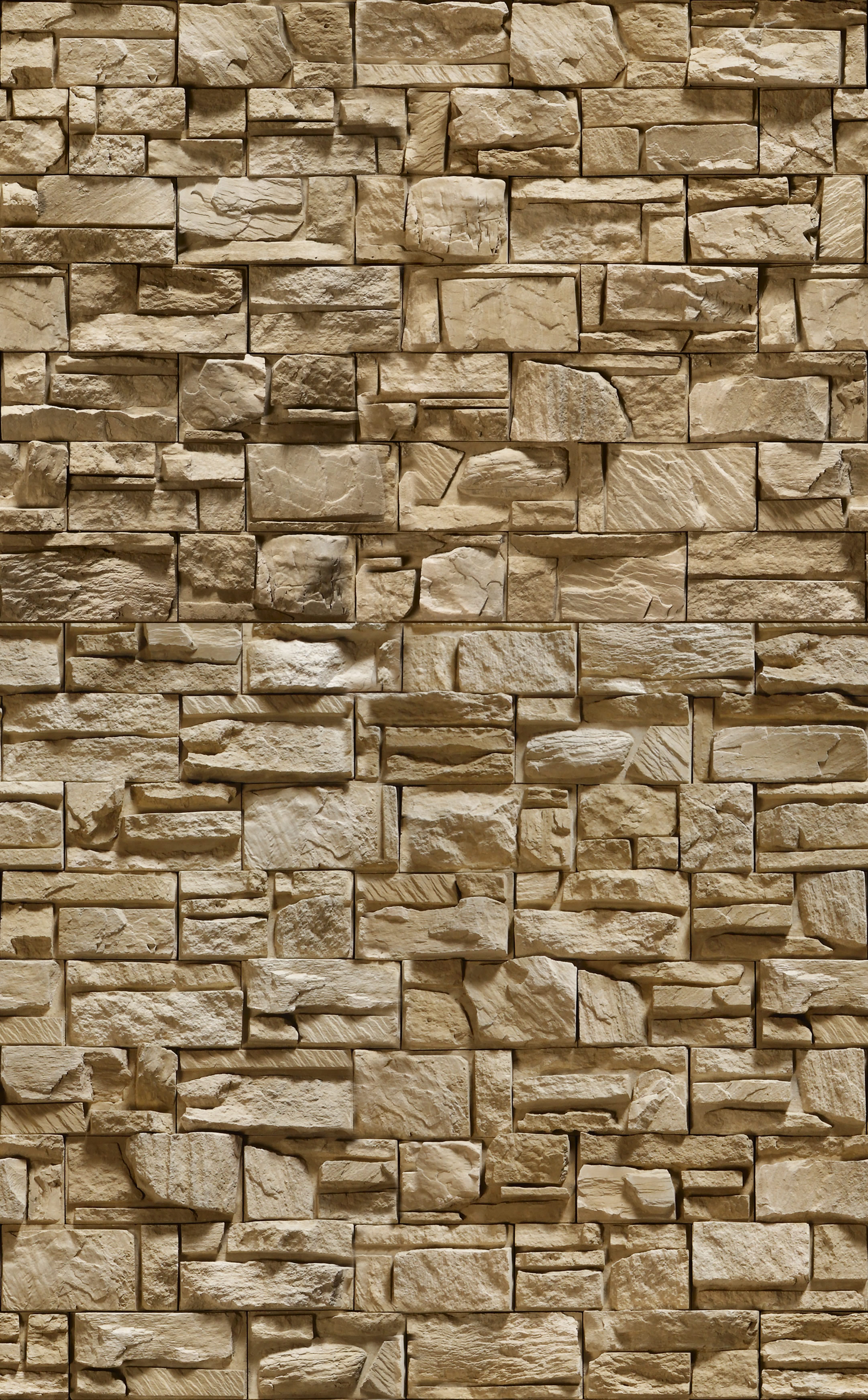 Stone Wall Texture Background Brown