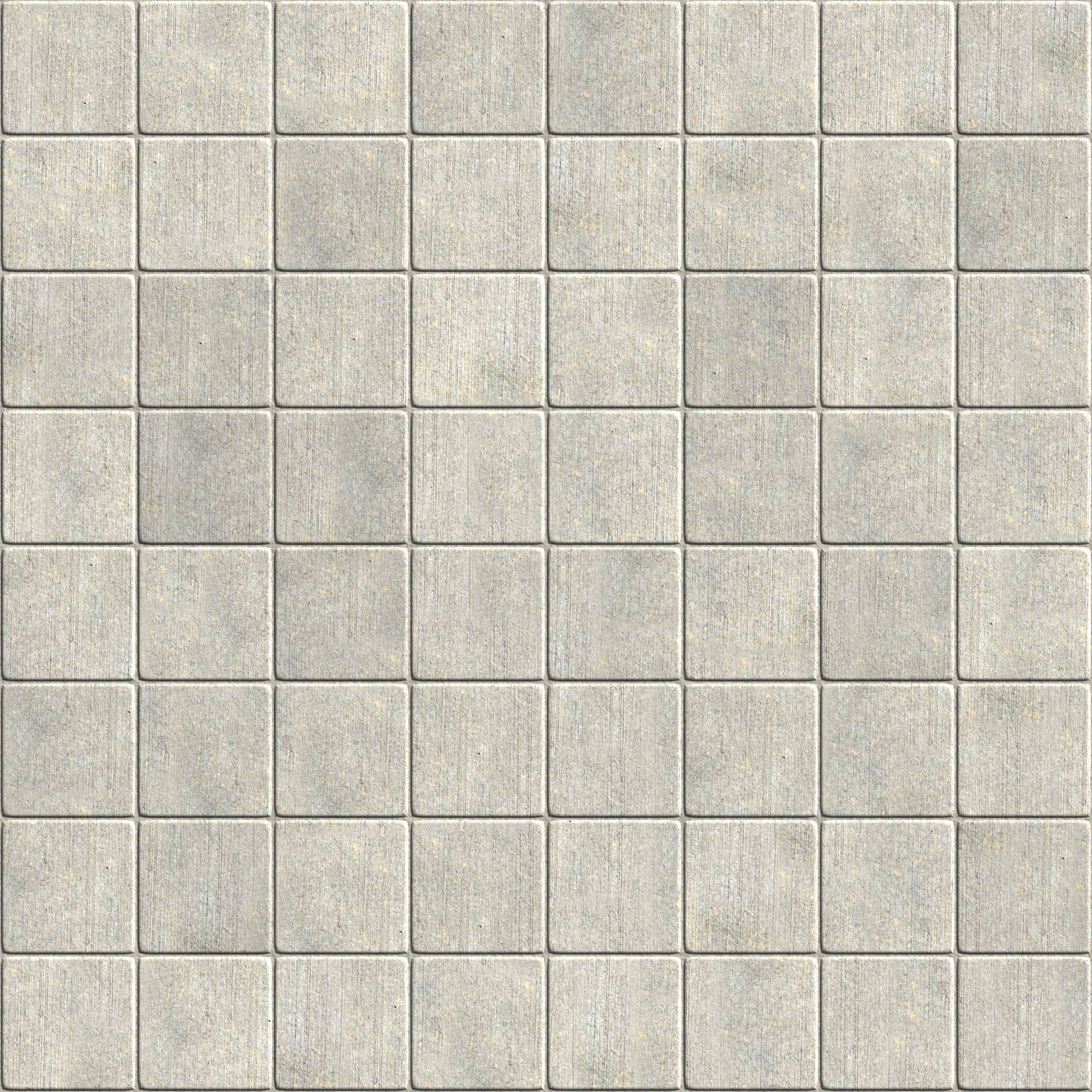 Outdoor mosaic floor tiles