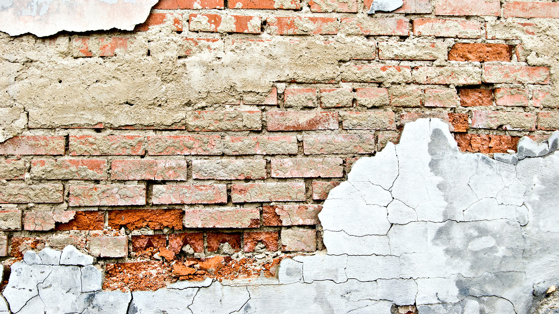 old brick wall, bricks, background, texture, download photo, stucco
