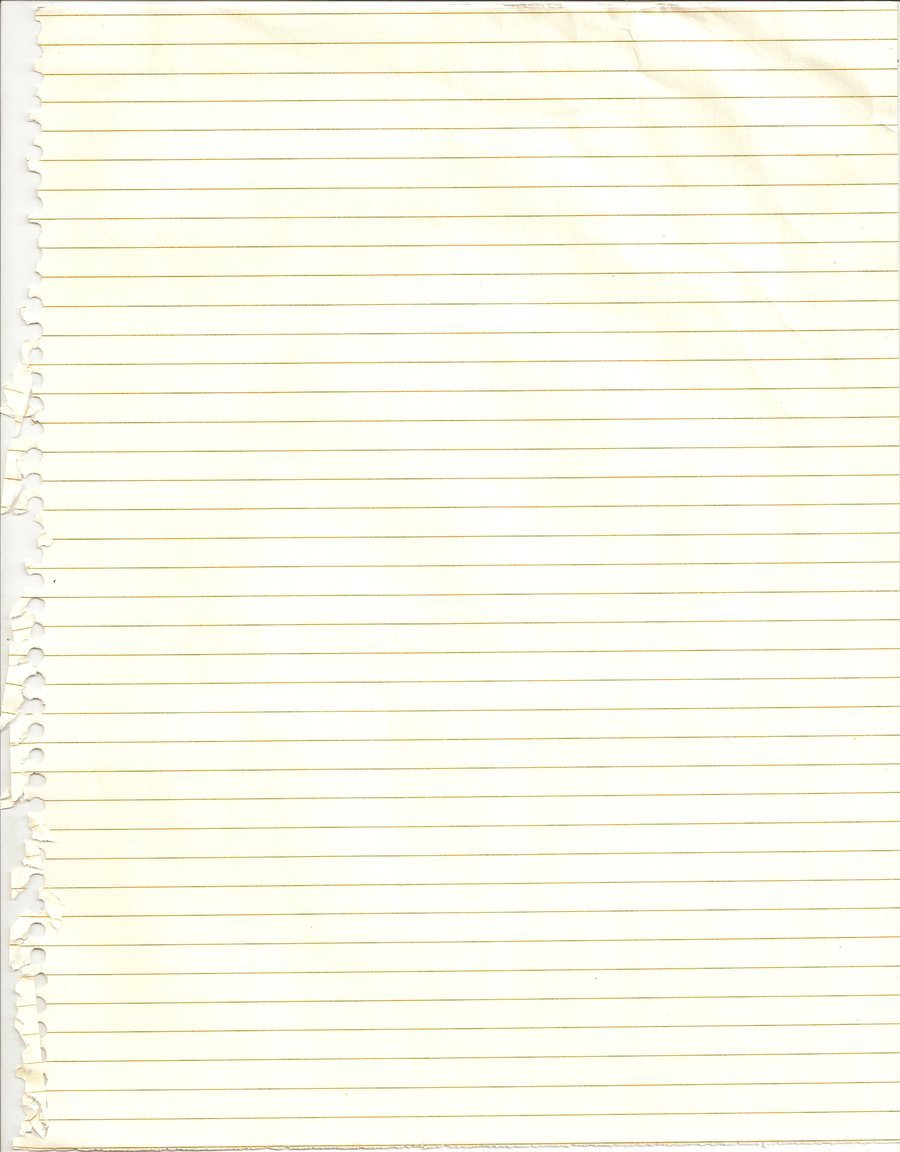 notebook paper lined texture